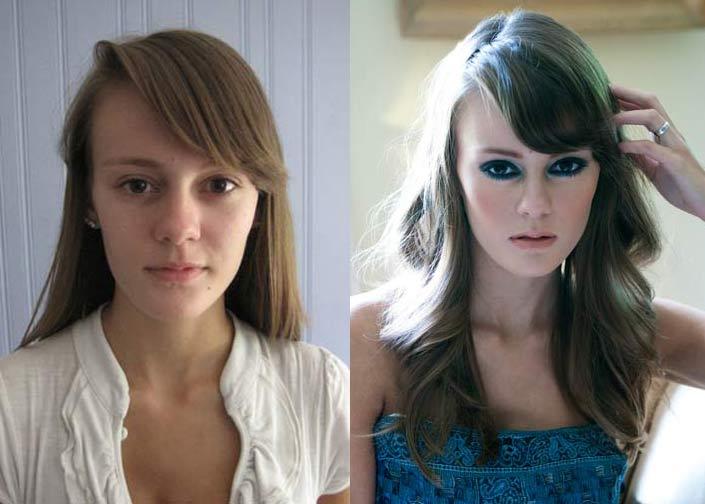 models makeup before and after mugeek vidalondon